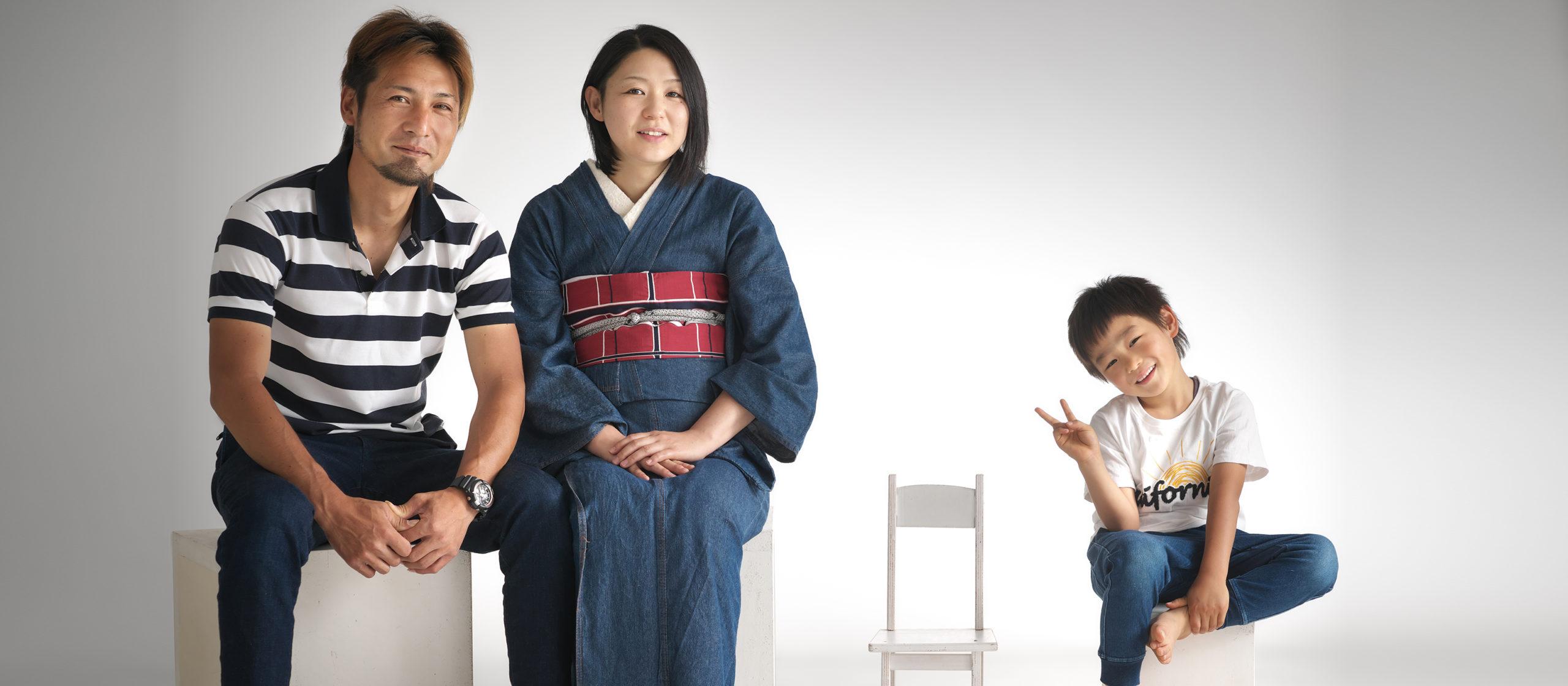 感動に満たされ、幸せがあふれる家族写真を。